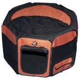 Octagon Pet Pen with Removable Top in Copper