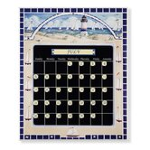 Lighthouse Magnetic Tile Perpetual Calendar