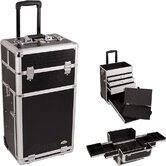 Professional Rolling Makeup Train Case