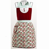 Twas The Night Harlequin Adult Apron
