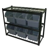 2 Shelf Bin Unit