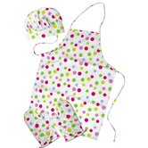 Kid's Polka Dots Apron