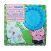 Kid's Cake Making Tool Kit