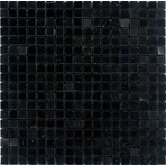 5/8&quot; x 5/8&quot; Polished Granite Mosaic in Absolute Black