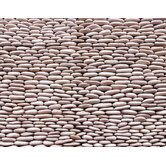 "Standing Pebbles 4"" x 12"" Interlocking Mesh Tile in Grotto"