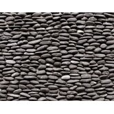 "Standing Pebbles 4"" x 12"" Interlocking Mesh Tile in Lamina"