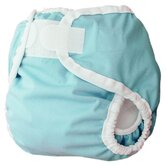 Diaper Cover in Aqua