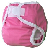 Diaper Cover in Raspberry