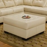 Soho Bonded Leather Ottoman