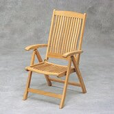 Teak Columbus Adjustable Chair