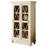 Coventry Two Tone Sliding Door Four Shelf Bookcase