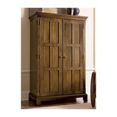 Woodland's Oak Armoire Desk