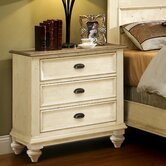 Coventry 2 Tone 3 Drawer Nightstand