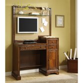 Bella Vista Computer Desk with Media Panel
