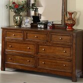 Craftsman Home 7 Drawer Dresser