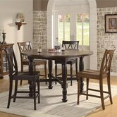 Delcastle 5 Piece Convert-A-Height Dining Set