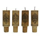 Epicureanist Wine Cork Candles (Set of 4)