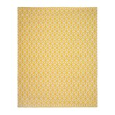 Facet Cream/Citrine Rug
