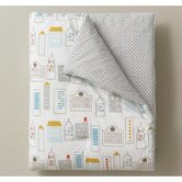 Skyline Play Blanket in Light Blue