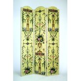 Intricate Floral Theme Room Divider