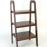 3 Tier Ladder Stand in Brown