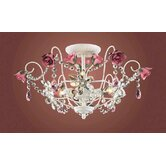 Mary-Kate and Ashley Rosavita Semi Flush Mount