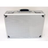 Aluminum Attache Case in Aluminum Finish: 12.25 x 17.25 x 4.5