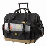 "CLC Tool Bag - 42 pocket ? 18"" slideglide roller bag"