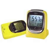 &quot;Global Sync&quot; Atomic Clock in Shiny Yellow