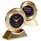 Gold Onyx Clock