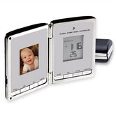 """Digi Companion"" Global Sync Atomic Clock with Digital Photo Frame"