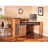 Vantage Corner Desk with Keyboard and Mouse Shelf