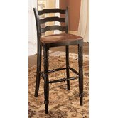Indigo Creek Bar Stool in Black