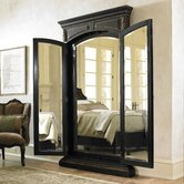 Grandover Floor Mirror in Brown