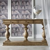 Melange 3 Pedestals Console Table