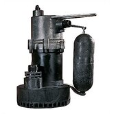 "1.25"" 1/4 HP Snappy John Submersible Sump Pump"