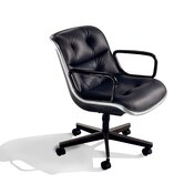 Pollock Mid-Back Office Chair with Arms