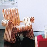 Frank Gehry Power Play Arm Chair