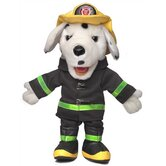"14"" Dalmation Fire Dog Glove Puppet"
