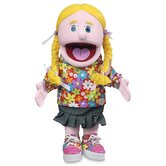 "14"" Cindy Glove Puppet in Pink"
