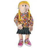 30&quot; Cindy Professional Puppet with Removable Legs in Peach