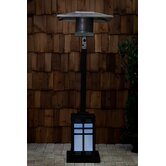 Square Illuminated Propane Patio Heater