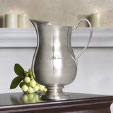 "Antique Buffet ""Pitcher"" Engraved Water Pitcher"
