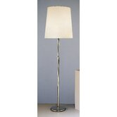 Buster  Floor Lamp with Fondine Shade