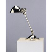 Alvin Desk Lamp in Polished Nickel