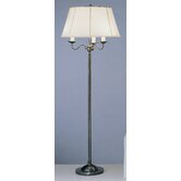 Alvin Floor Lamp in Deep Patina Bronze