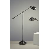 Alvin Boom Floor Lamp in Deep Patina Bronze