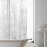 3D Hookless Shower Curtain in Clear