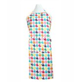 Houndstooth Adult Apron in Multi-Color