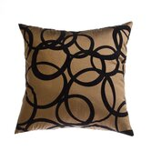 Mia 18&quot; Pillow in Copper Black